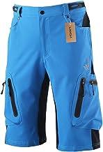 Lixada pantalones de ciclismo transpirable, de secado rápido [MTB] - pantalones exteriores, impermeables para senderismo escalada trekking para hombre [extra grande (UE)]
