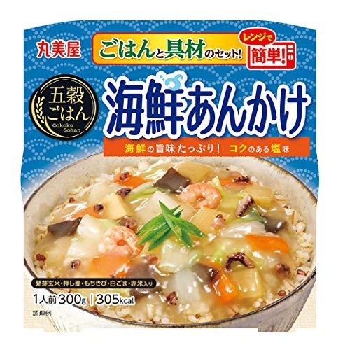 丸美屋 五穀ごはん 海鮮あんかけ 300g ×6個