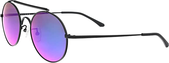 Sean John SJ859S 001 Black Round Sunglasses