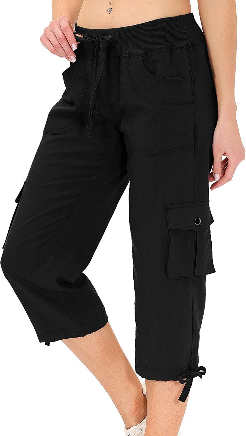 Hiking Cargo Shorts Selling for Women Dry Animer and price revision Capri Fit Cam Active Pants
