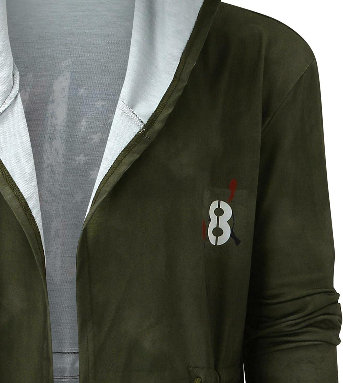 Hemlock Men Hooded Coats Long Cardigan Sweater Long Sleeve Autumn Hoodies Jacket Jumpers Outwear Blazer Pollover