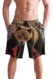 Mens Soft Breathable Large Whale Shark Underwear Boxer Briefs
