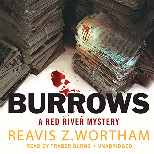 Burrows audiobook cover art