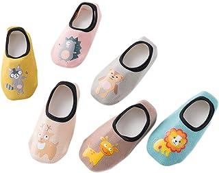 certylu, certylu Calcetines, impresión Niños Recién Nacido Calcetines de Piso Bebé Niños Algodón Calcetines Antideslizantes de Dibujos Animados