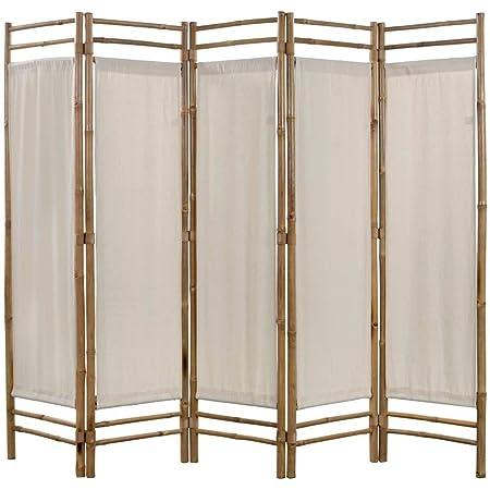 Raumteiler Paravent Trennwand Spanische Wand Raumtrenner Sichtschutz Bambus