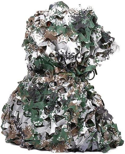Filet De Camouflage Filet De Camouflage des Bois Camouflage De L'armée Filet D'ombre Durable Et Léger Chasse Aveugle Camping Photographie Jungle,A-5M×10M
