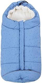 Fairy Baby Universal Baby Stoller Sleeping Bag Footmuff Footmuff Sack,Blue Dots