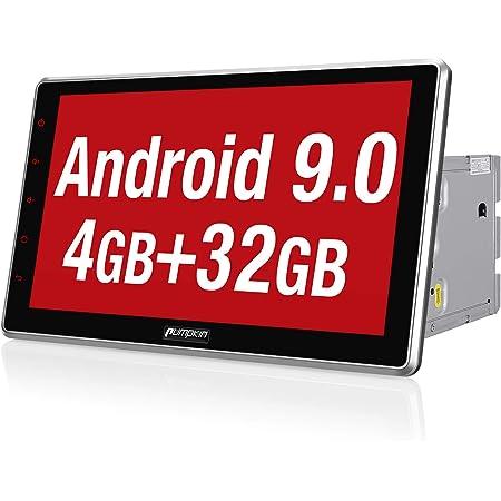 USB OBD2 Pumpkin Doppel DIN Android 9.0 Autoradio GPS Navigation Bluetooth DAB