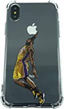 Basketball Stars Ultra Slim Crystal Clear Soft Transparent TPU Case Cover for Apple iPhone (LBJ, X/XS)