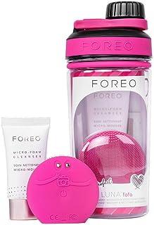 FOREO Gift Set FOREO Picture Perfect LUNA fofo + Micro-Foam Cleanser + Micro-foam Cleanser 20ml + Water bottle, Fuchsia
