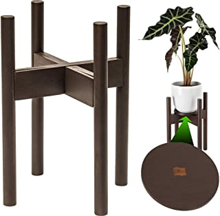 Sponsored Ad - ZPirates Plant Stand for Indoor Plants - Planter Tray Included - Adjustable Size Fits 8 9 10 11 12 Inches P...