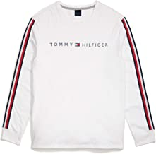 Tommy Hilfiger Men's Adaptive Long Sleeve T Shirt with Velcro Brand Closure at Shoulders