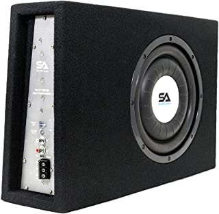$181 » Sponsored Ad - Seismic Audio - SA-SCE10-A - Powered 10 Inch 500 Watt Slim Shallow Mount Car Truck Audio Subwoofer Enclosure