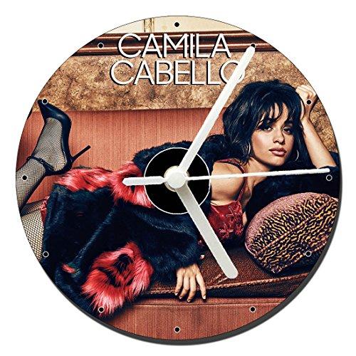 MasTazas Camila Cabello Reloj CD Clock 12cm