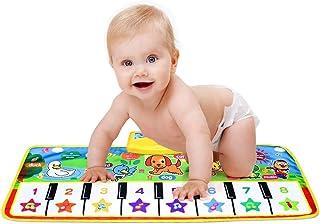 Mumoo Bear 73x28cm Baby Piano Music Play Mat Children Educational Musical Carpet Rug Toys for Kids