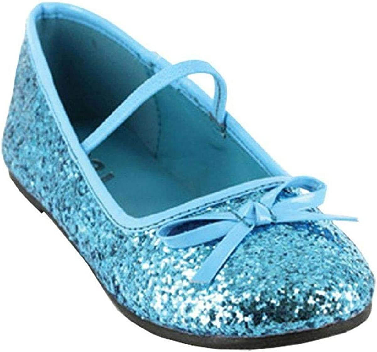 Ellie Shoes Flat Ballet Glitter Ch Bu Med
