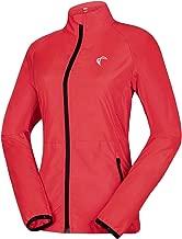 J.CARP Women's Packable Windbreaker Jacket, Super Lightweight and Visible, Outdoor Active Cycling Running Skin Coat