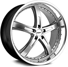 TSW JARAMA Silver Wheel with Painted Finish (17 x 8. inches /5 x 108 mm, 40 mm Offset)