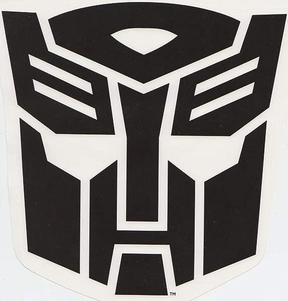 7 Autobot Emblem Symbol Badge Insignia Logo Transformers Age Of Extinction Robots Removable Peel Self Stick Adhesive Vinyl Decorative Wall Decal Sticker Art Kids Room Home Decor Boy Children 7x7 Inch