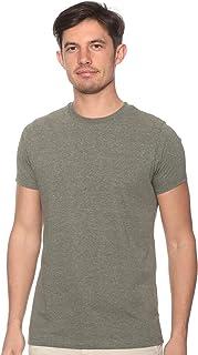 Off Cliff Plain Short Sleeves Crew Neck T-shirt for Men