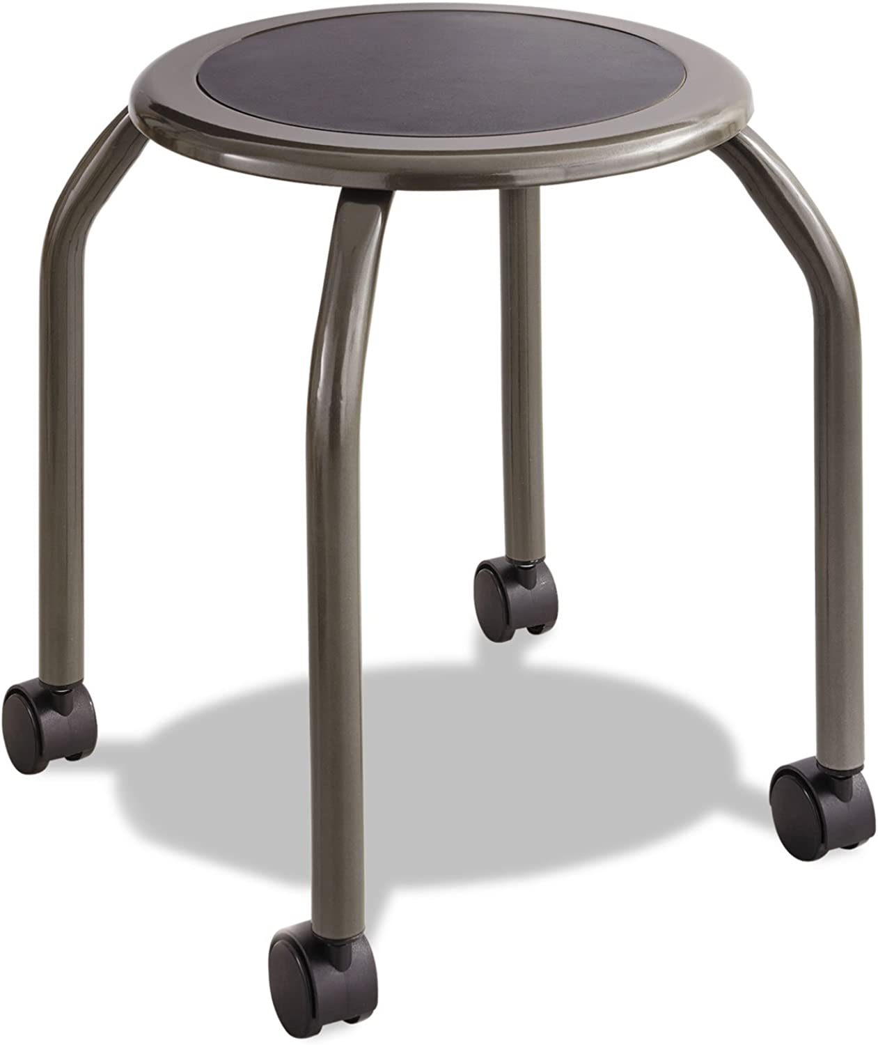 Safco Products Diesel Stool Trolley, Pewter