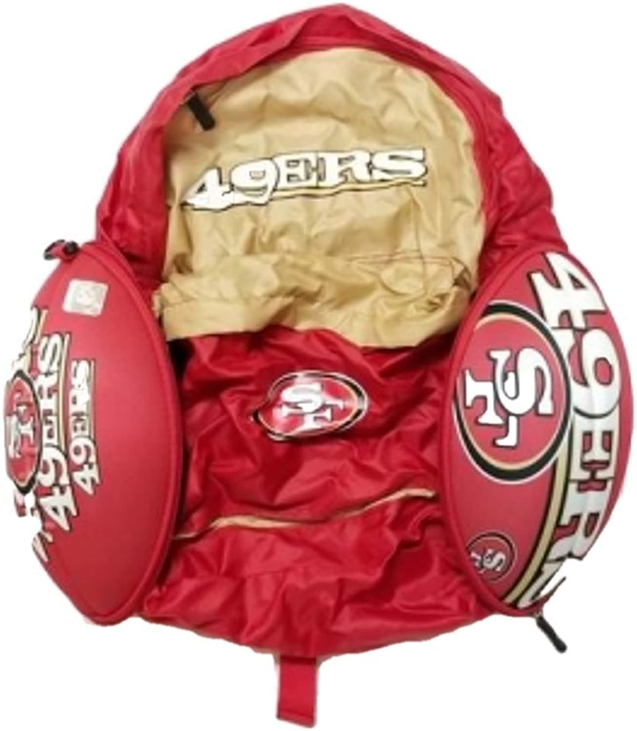 Congreenible Backpack That Zips into a Football