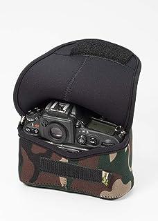 LensCoat Bodybag Case Neoprene Camera Body Bag Case Protection Camouflage Bodybag Plus, Forest Green (lcbbxfg)