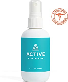 Active Skin Repair Spray – The Non-Toxic, Natural Antibacterial Healing Ointment & Antiseptic Spray for cuts, scrapes, rashes, sunburns and Other Skin irritations (3oz)