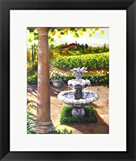 Under The Tuscan Sun II by Susan Rios Framed Art Print Wall Picture, Black Frame, 18 x 21 inches
