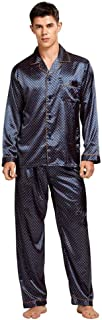 Men's Silk Pajamas Suit Sexy Modern Style Soft and Comfortable Satin Summer Silk