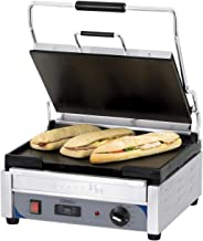 Grill panini professionnel lisse - 375 x 273 mm - Casselin