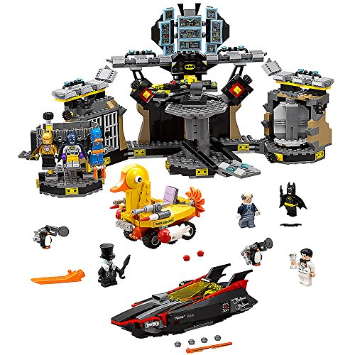 Lego The Batman Movie Batcave Break In Building Set 70909