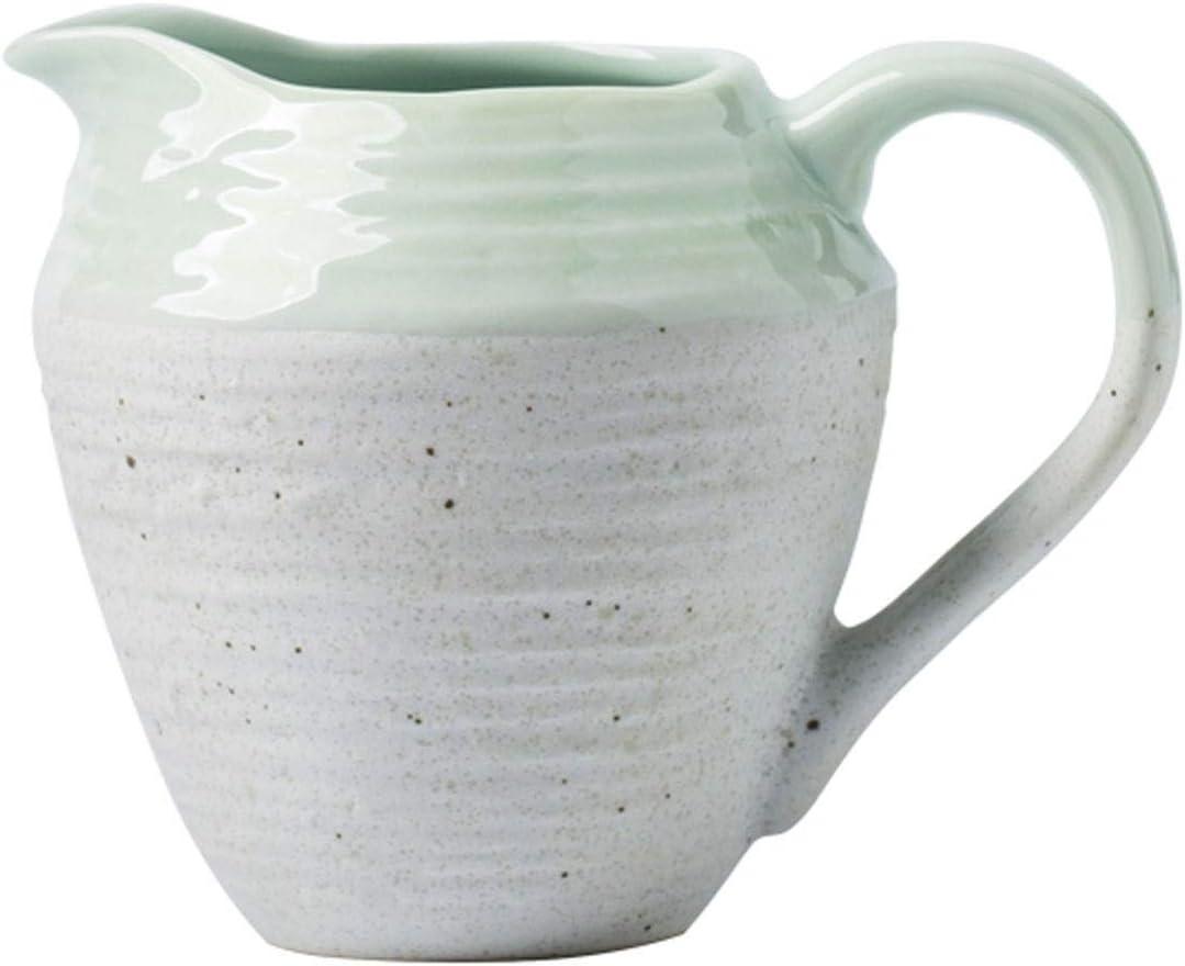 Milk Creamer Jug Nordic Hand-painted Pattern Pointed Milk Jug Cr