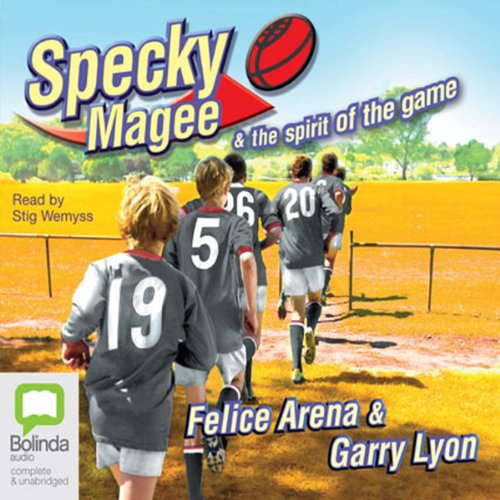 Specky Magee and the Spirit of the Game audiobook cover art
