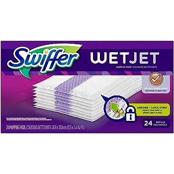 24 ct Original Swiffer Wet Jet Mopping Pad Refills