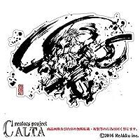 CALTA-ステッカー-風神 (3.Lサイズ)