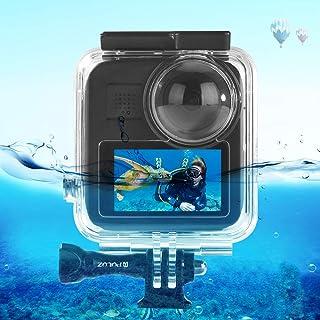PULUZ Wasserdichtes Gehäuse für GoPro Max Action Kamera, Unterwasser Schutzhülle, Tauchergehäuse für GoPro Max mit Schnalle, Basis Halterung und Schraube