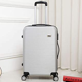 Trolley case Male and Female Universal Wheel Board case Out Travel Hard Shell Suitcase Gray