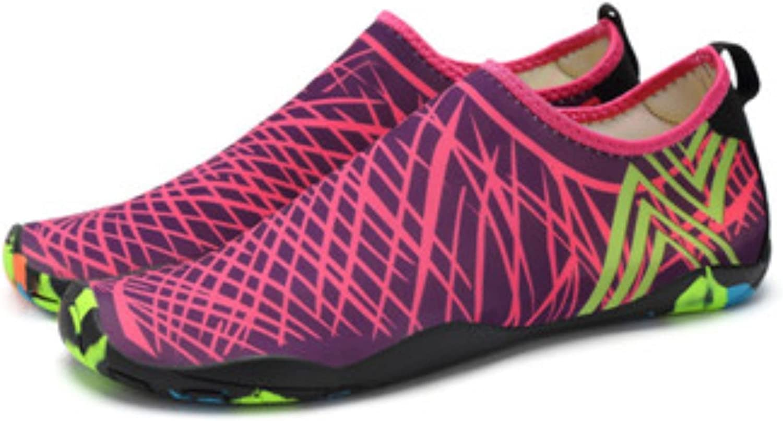 Adult Unisex Aqua shoes Outdoor Swimming Water shoes Men and Women Flat Soft Seaside shoes Walking Yoga Beach shoes