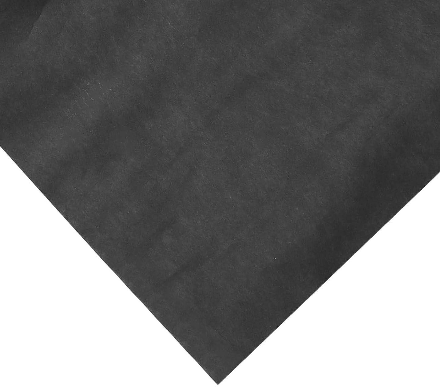 Rainbow Kraft 353012 Duo-Finish Kraft Light-Weight Paper Roll, 36 in x 100 ft,  Black