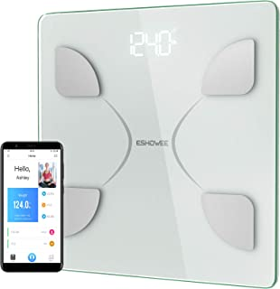 Body Fat Scale,Bluetooth Smart BMI Scale Wireless Digital Weight Scale, Body Composition Analyzer with Smartphone App for ...