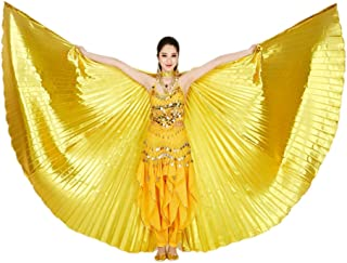 CISMARK Isis Wings Belly Dance Costume Prop (Closed Back) No Sticks