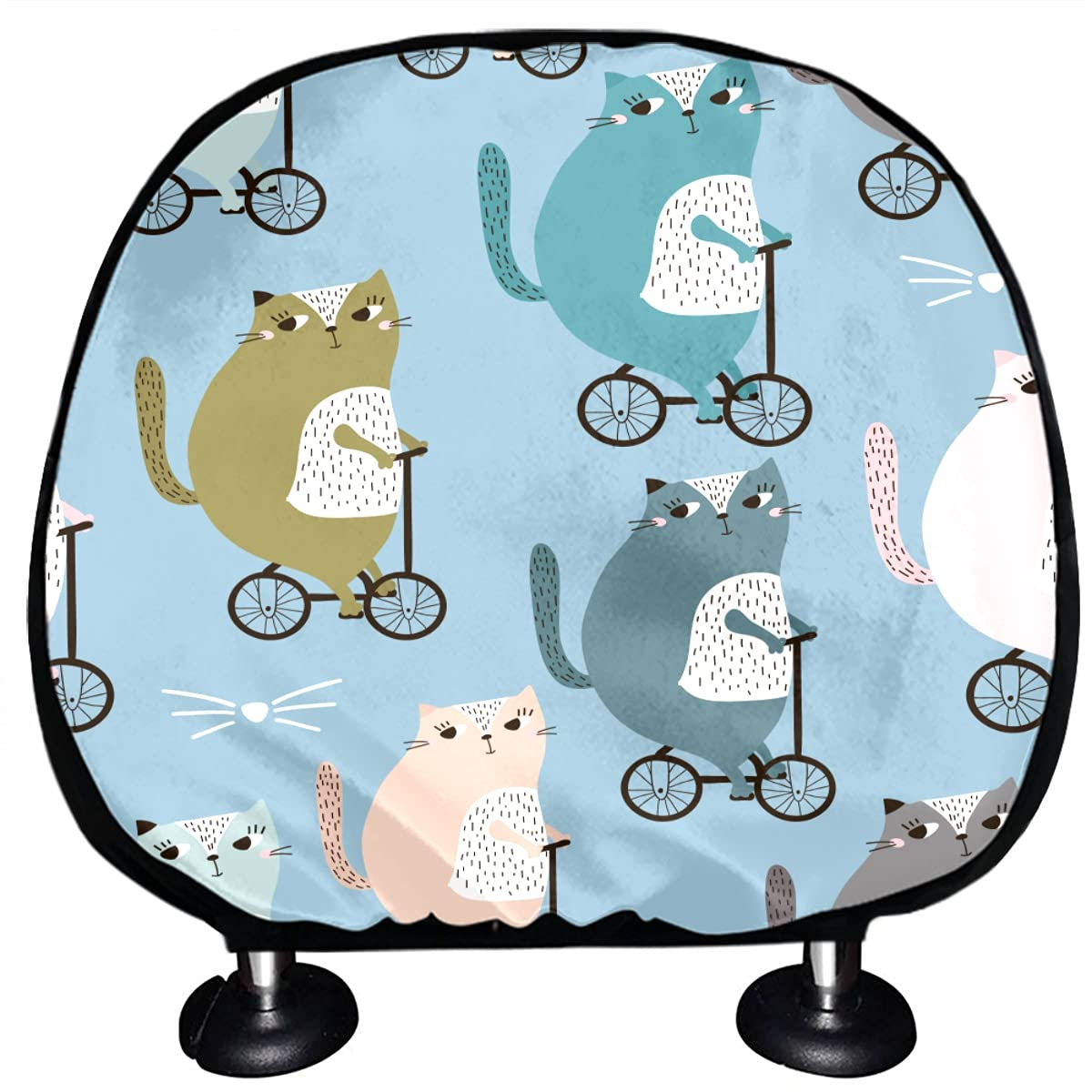Seat Headrest Cover Beautiful Warm Heart Sea Animal Lazy Pet Cat Many popular brands Weekly update