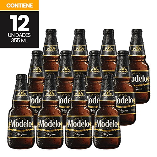 12 Flaschen Cerveza MODELO Negra 5,3% vol dunkles Bier aus Mexiko