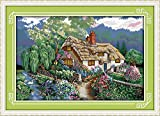 Stamped Cross Stitch Kits 14CT DIY Needlework 54×38 cm Painting Craft Needlepoint Pattern Embroidery Design...
