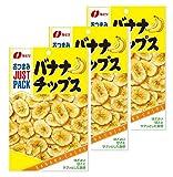 なとり ジャストパック バナナチップス 袋80g
