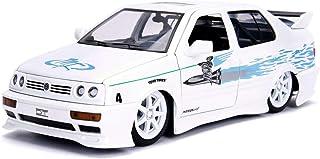 Jada Jesse's Volkswagen Jetta White Fast & Furious Movie 1/24 Diecast Model Car