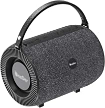 Portable Bluetooth Speaker Outdoor Portable Wireless Subwoofer Waterproof Small War Drum (Color : Black) photo