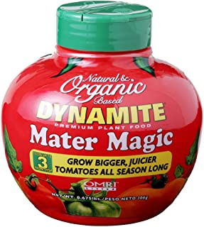 Dynamite Natural and Organic Mater Magic Plant Food 0.675-Pound (1 qty)