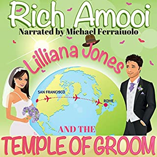 Lilliana Jones and the Temple of Groom audiobook cover art